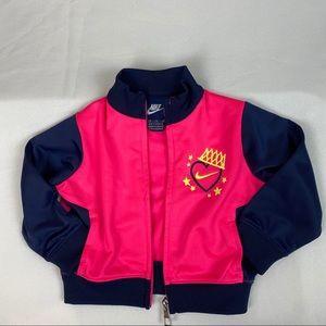 3/$20 NIKE Baby Track Jacket Size 12M